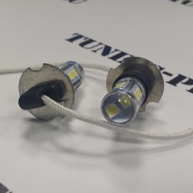 светодиодные лампы H3 тюнинг проект Tuning Projekt
